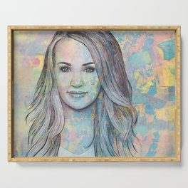 Carrie Underwood - All-American Girl Serving Tray