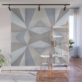 Origami - White Wall Mural