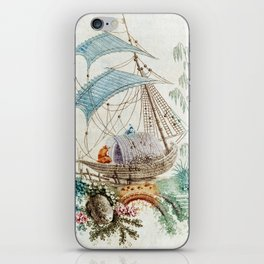 Chinoiserie Embroidery iPhone Skin