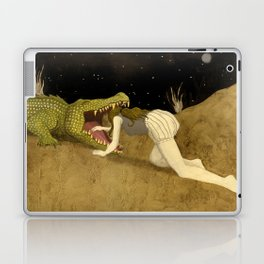 In The Mouth Of Madness Laptop & iPad Skin