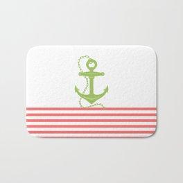 AFE Green Nautical Anchor Bath Mat