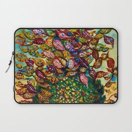 Le grand flower bouquet in vase by Seraphine Louis Laptop Sleeve
