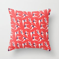 Tiny Dancers Throw Pillow