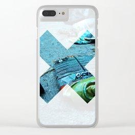 x 17 Clear iPhone Case
