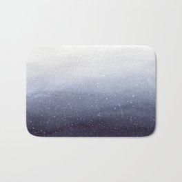 Falling Snow Bath Mat