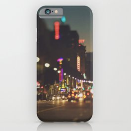 Hollywood Boulevard photo. Los Angeles iPhone Case
