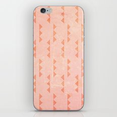 Triangles - Coral iPhone & iPod Skin