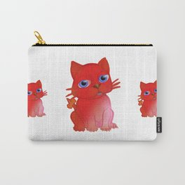 My Red Vanda Cat Pet Carry-All Pouch