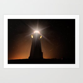 Night Light Art Print