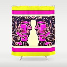 Pink Warrior (Number 11) Shower Curtain