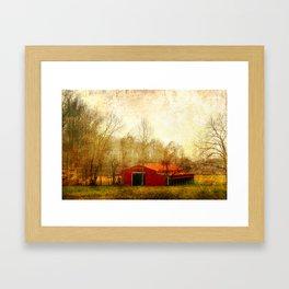 Flat Fork Barn Framed Art Print