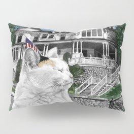 Mackinac Island Cat Pillow Sham