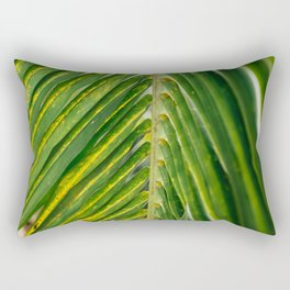 Palm Fronds Rectangular Pillow