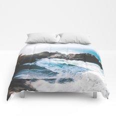 ocean falaise Comforters