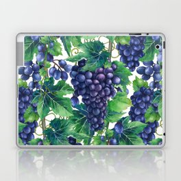 Watrercolor grapes Laptop & iPad Skin