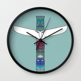 Totem Spirit Wall Clock