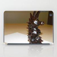 sea horse iPad Cases featuring Sea Horse by Lili Lash-Rosenberg