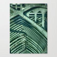 Bridge Ribs Canvas Print
