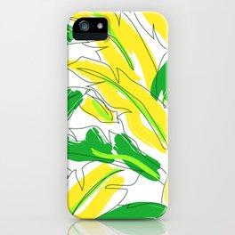 Banana Leaf Lovin' iPhone Case