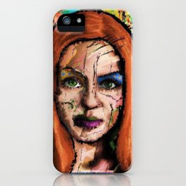 The Queen of all Tomorrow's iPhone Case