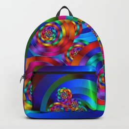 Rainbow Rings Backpack