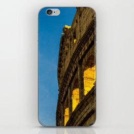 Sunset Over The Roman Colosseum. iPhone Skin