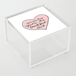 sincerely yours Acrylic Box