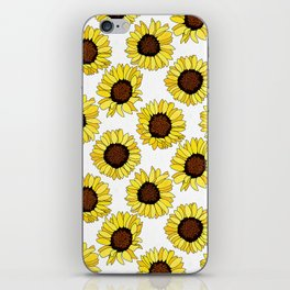 Sunflowers are the New Roses! - White iPhone Skin