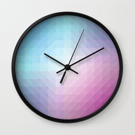 Blend Pixel Color 1 Wall Clock