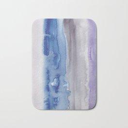 26    190907   Watercolor Abstract Painting Bath Mat