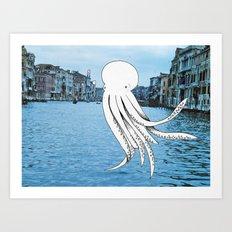Octo Art Print