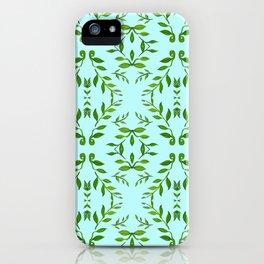 zakiaz holli aqua & green iPhone Case