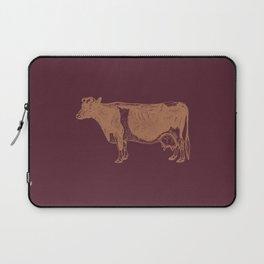 cow bro Laptop Sleeve