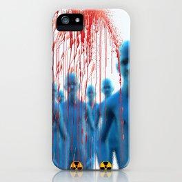 Aliens Gang & Strange Cosmic Blood iPhone Case