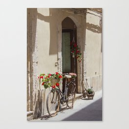 Bicycle in Syracuse Canvas Print