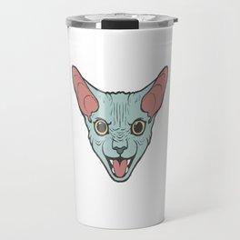 Sphinx Cat - Variation Travel Mug