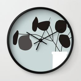 White Vase #society6 #decor #buyart Wall Clock