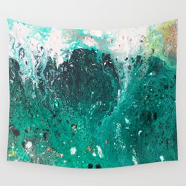 Mountain runoff Wall Tapestry