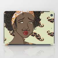 mustache iPad Cases featuring Mustache by Chouly-Shop