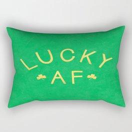 Lucky AF Rectangular Pillow