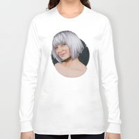 sia Long Sleeve T-shirts featuring Sia  by Will Costa
