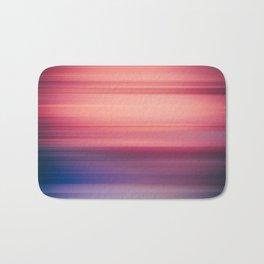 Abstract background blur motion purple violet Bath Mat