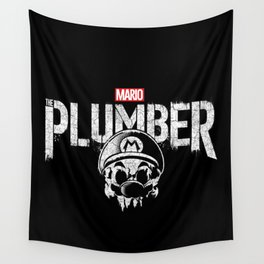 Mario the Plumber Wall Tapestry