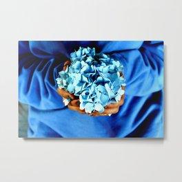 Things of Blue  Metal Print