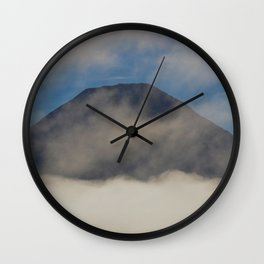 Early Morning Mist - II Wall Clock