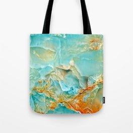 Onyx - blue and orange Tote Bag