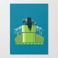 The wrong hole Canvas Print