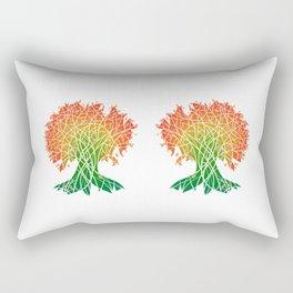 The Magical Autumn Tree Rectangular Pillow