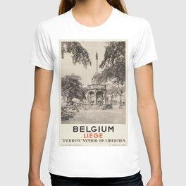 Vintage poster - Liege T-shirt