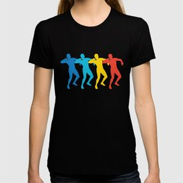 Shot Putter Retro Pop Art Shot Put Graphic T-shirt